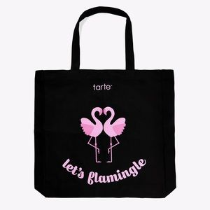 Black Flamingo Summer Tote Bag